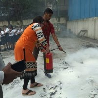 mock drill and fire safety
