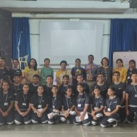 Adolescent Workshop for the students