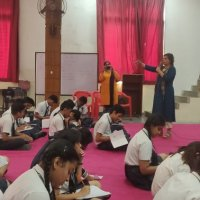 Workshop std 10 on managing the exam fear
